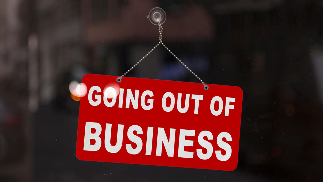 going out of business is not the only option. call american fiasco